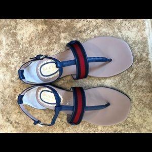 7efcbaa7a6b0 BNIB GUCCI LITTLE Girls Sandals Shoes Size 30